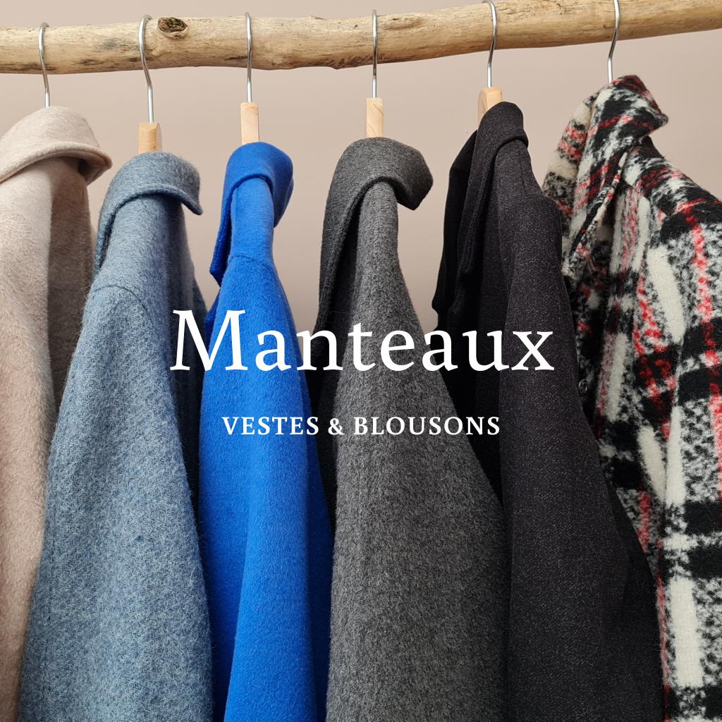 Manteaux vestes blousons